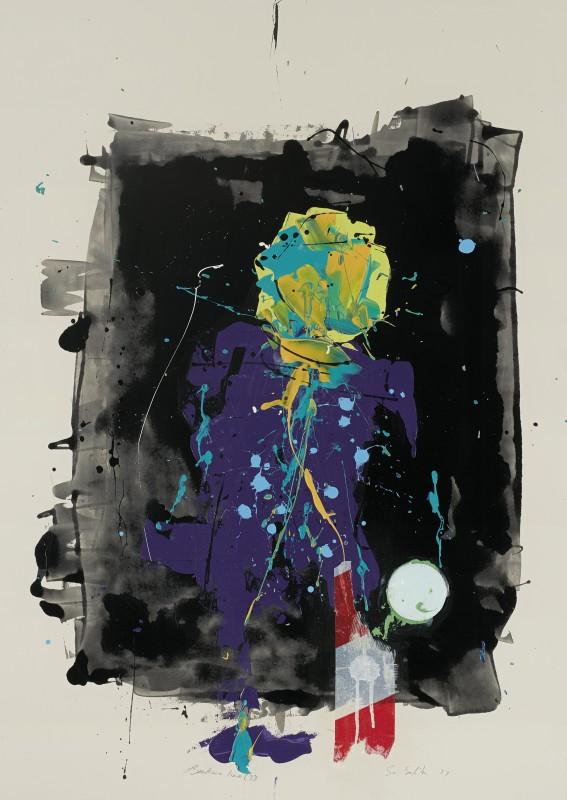 Daniel Stompie Selibe, Broken Line Series 33, 2017