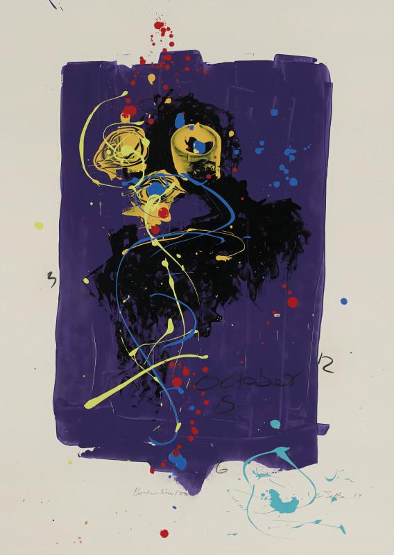 Daniel Stompie Selibe, Broken Line Series 28, 2017