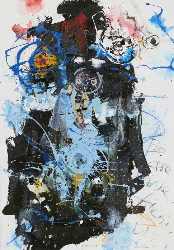 Daniel Stompie Selibe, Blue Skies, 2017