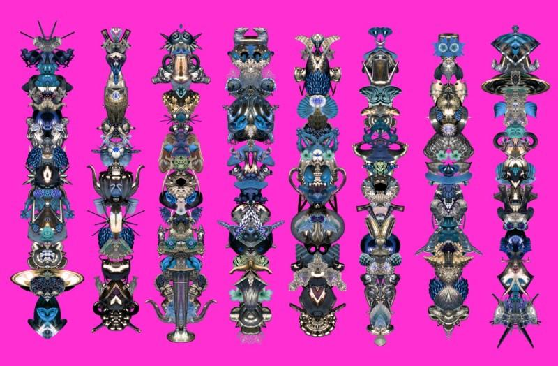 Carlos Betancourt, Amulet for Light VII, 2012, 2012