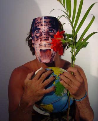 Carlos Betancourt, La Mascara Souvenirs Series, Untitled 1000 with Souvenirs, 2005, 2005
