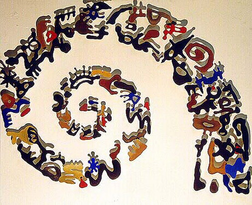 Carlos Betancourt, Wall Assemblages, Archaic Substance, 1997, 1997