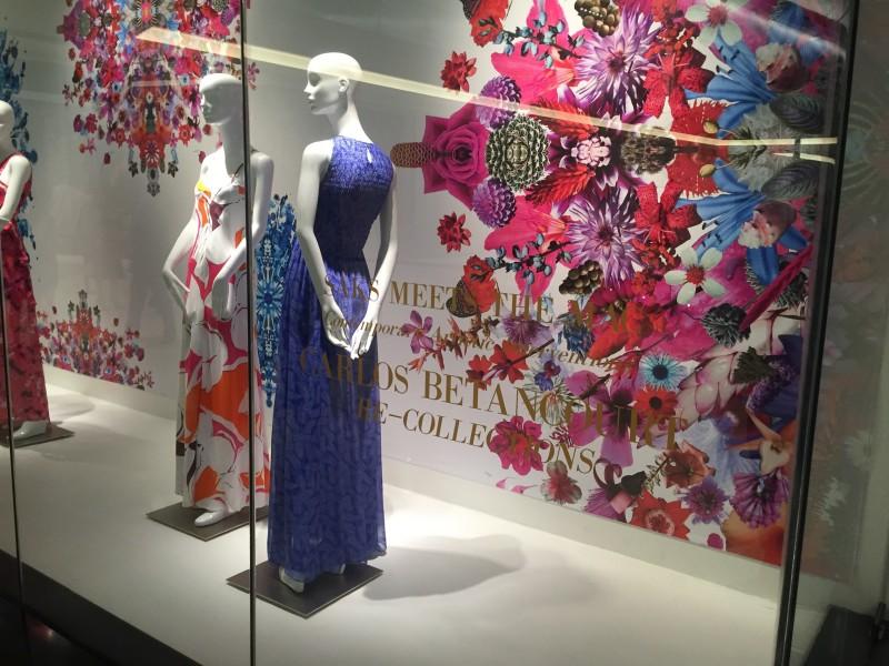 Carlos Betancourt, Collaboartion Diane Von Fustenberg SAKS Fifth Avenue, 2015
