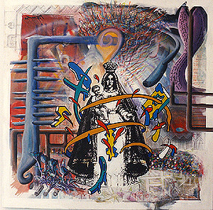 Carlos Betancourt, Fracturism, 1993, 1993