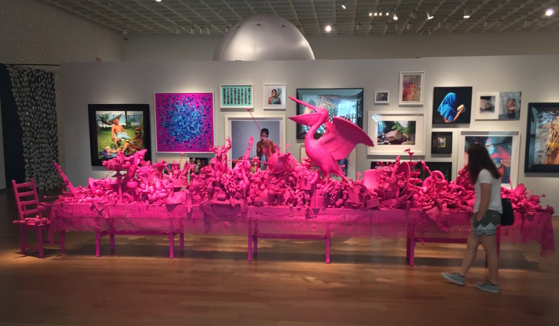 Carlos Betancourt, (Orlando Museum of Art, Florida) Let Them Feel Pink, 2012