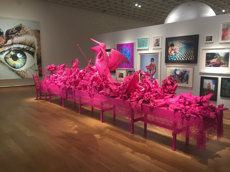 Carlos Betancourt, (Orlando Museum of Art) Let Them Feel Pink, 2012