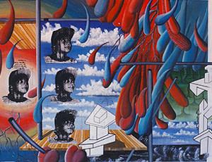 Carlos Betancourt, Viaje y Destino de Raiza la Balsera, 1993, 1993
