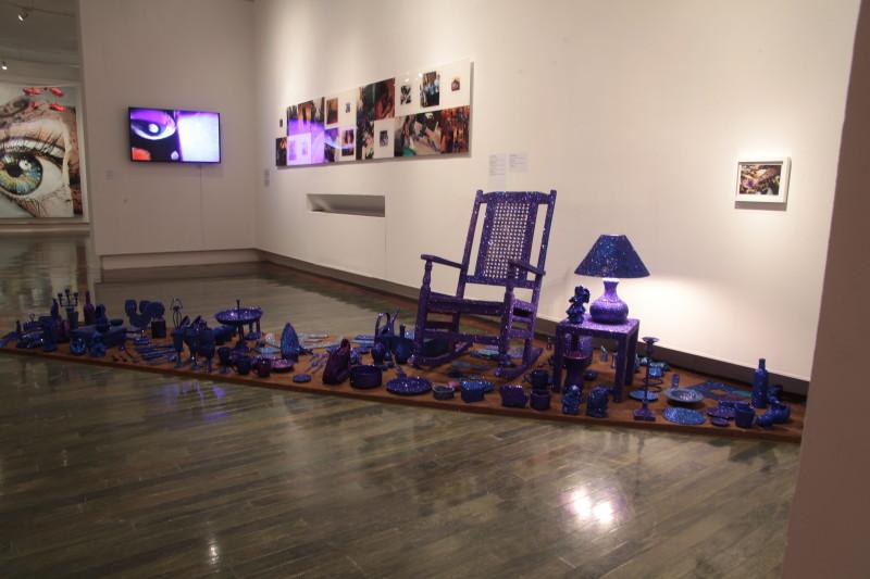 Carlos Betancourt, (Museo de Arte Contemporaneo de Puerto Rico) Interventions with Aracoel's Objects, 2015