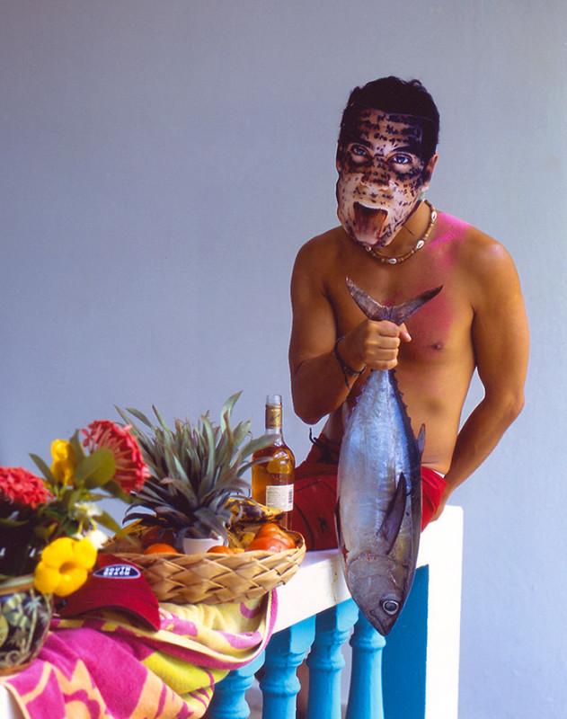 Carlos Betancourt, Rincon Flamboyant Series, Alberto con la Tuna de la Trastornada Sexual…, 2005, 2005