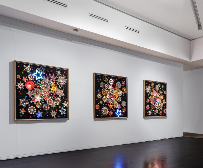 Carlos Betancourt, Times of Illuminations II III iV, 2018
