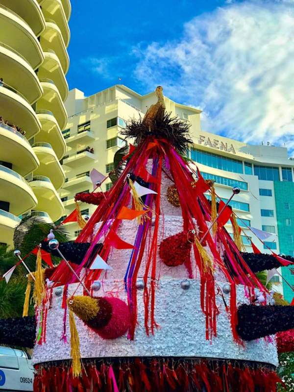Carlos Betancourt, Art Processional Faena: The Pelican Passage, Tide by Side, site specific commission, 2016