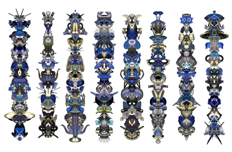 Carlos Betancourt, Amulets for Light, XVII, 2012