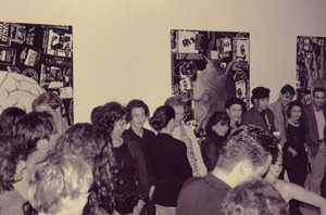 Carlos Betancourt, Exhibit opening at Imperfect Utopia, 1992-1994