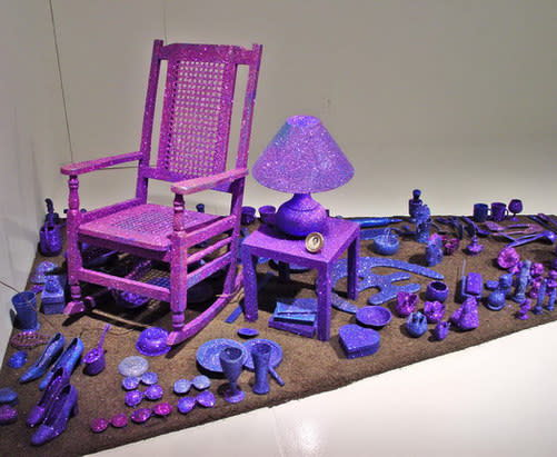 Carlos Betancourt, Interventions with Aracoel's Objects Site Specific Installation, 2003, 2003