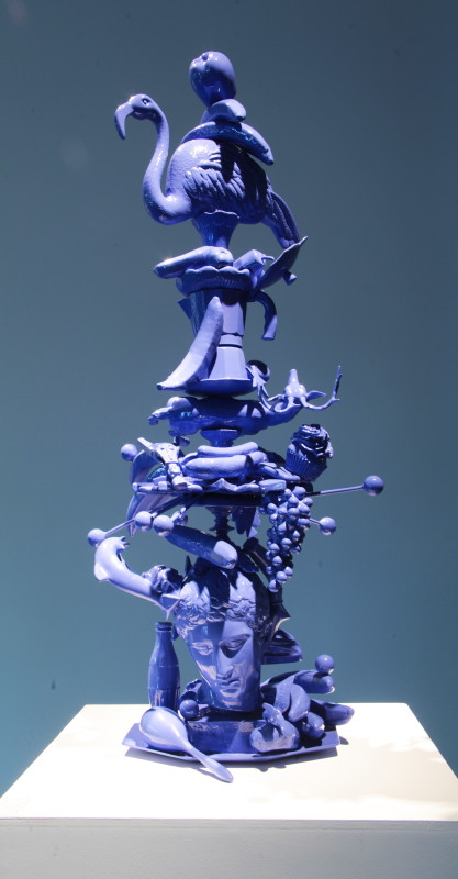 Carlos Betancourt in collaboration with Alberto Latorre, Totem Atomic, Bronze, 2011