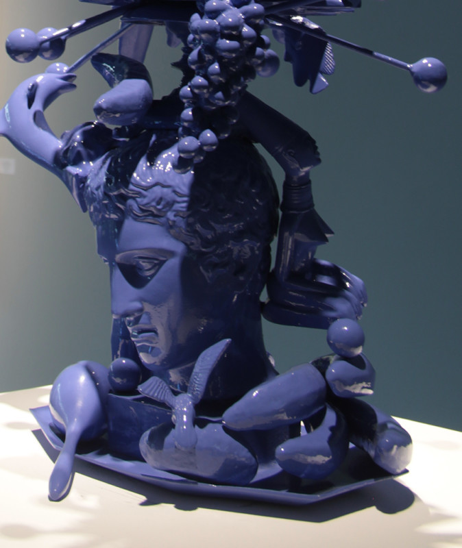 Carlos Betancourt in collaboration with Alberto Latorre, (Detail) Totem Atomic, Bronze, 2011