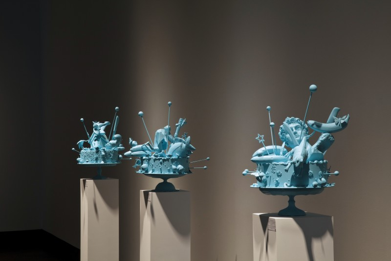 (exhibit J Johnson Gallery, Florida) Cake Atomic, 2014