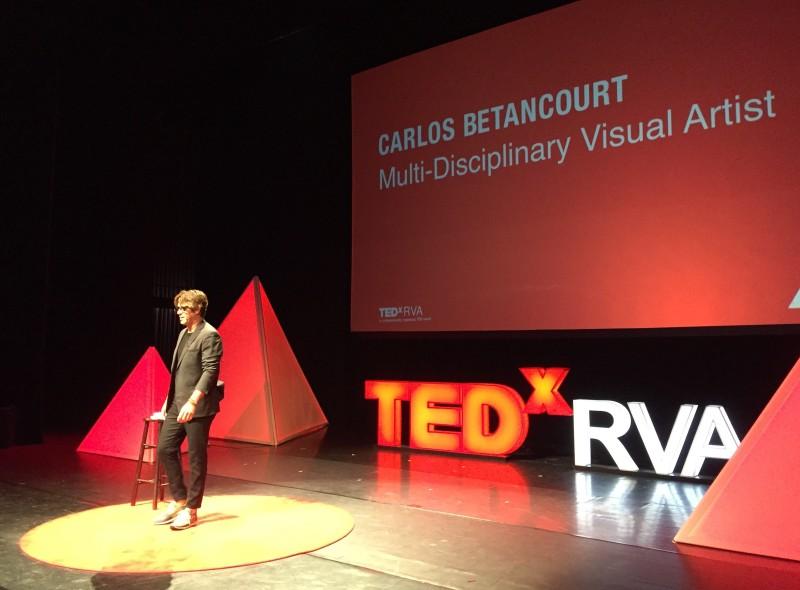 Carlos Betancourt, TEDxRV Talk, 2017