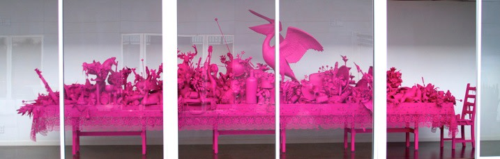 Carlos Betancourt, Let Them Feel Pink, 2012, 2012