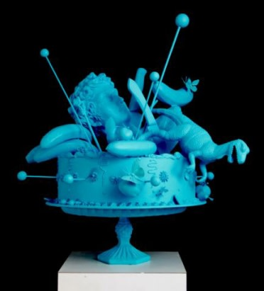Carlos Betancourt in collaboration with Alberto Latorre, Cake Atomics, 2011