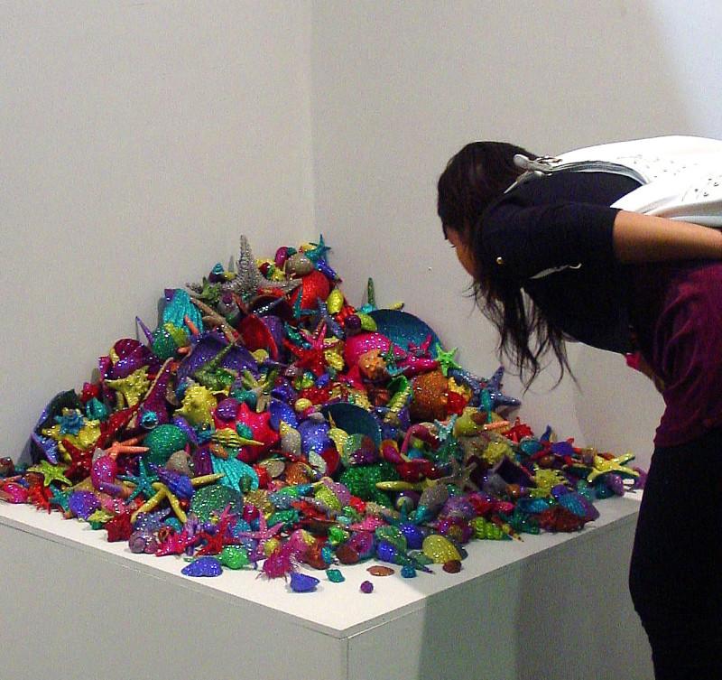 Carlos Betancourt, Recollections Seashells, CIrca Installation, 2006