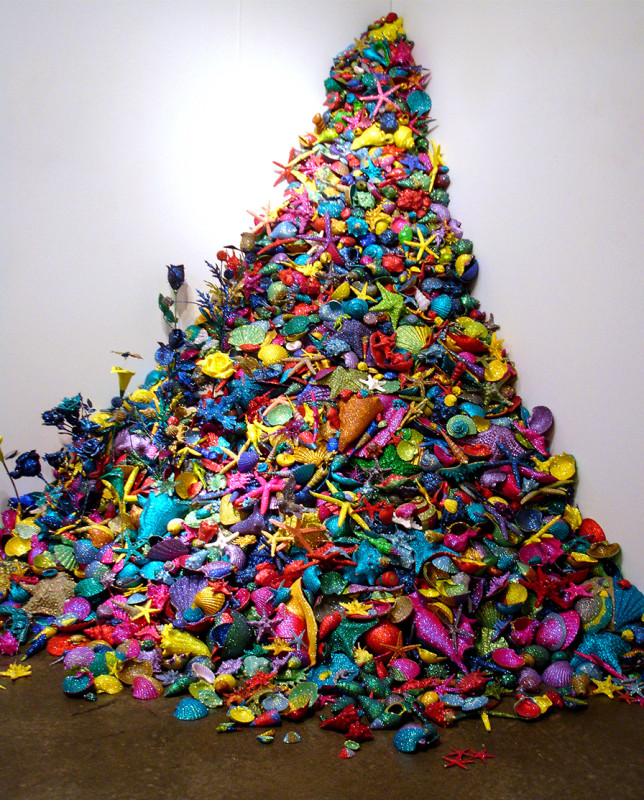Carlos Betancourt, Re-Collections Seashells, 2006