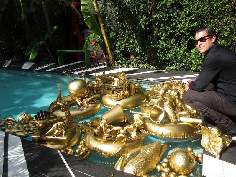 Carlos Betancourt, GOLDEN POND WISHES, 2013-2017