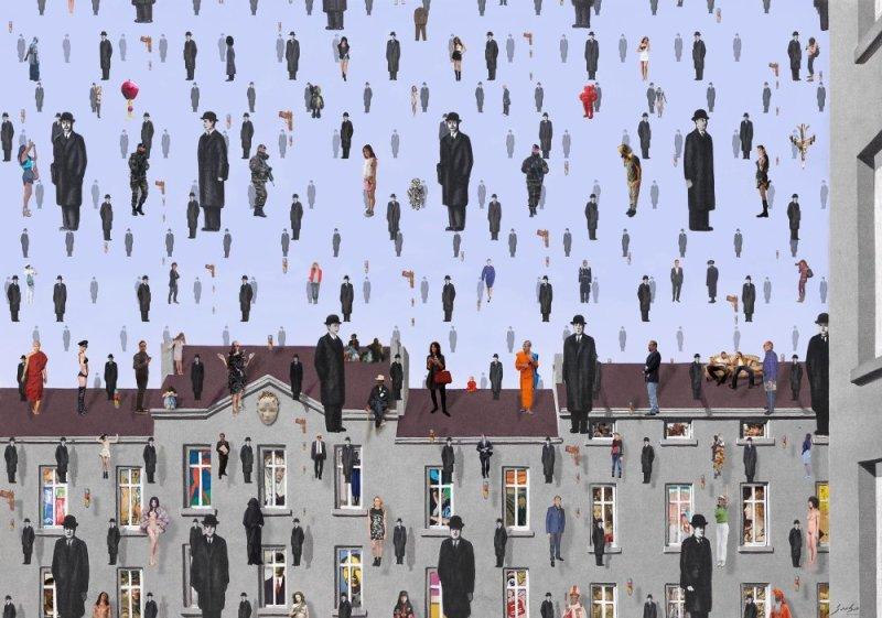 Lluis Barba, Golconde Magritte, 2017