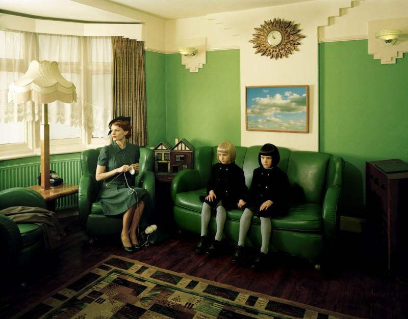 Lottie Davies, Viola as Twins, 2009