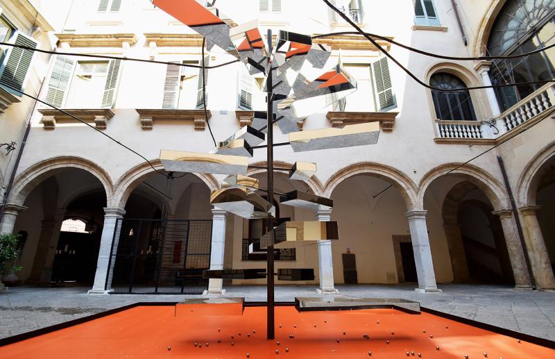 Marcin Dudek, Installation View, Giochi Senza Frontiere, 2018