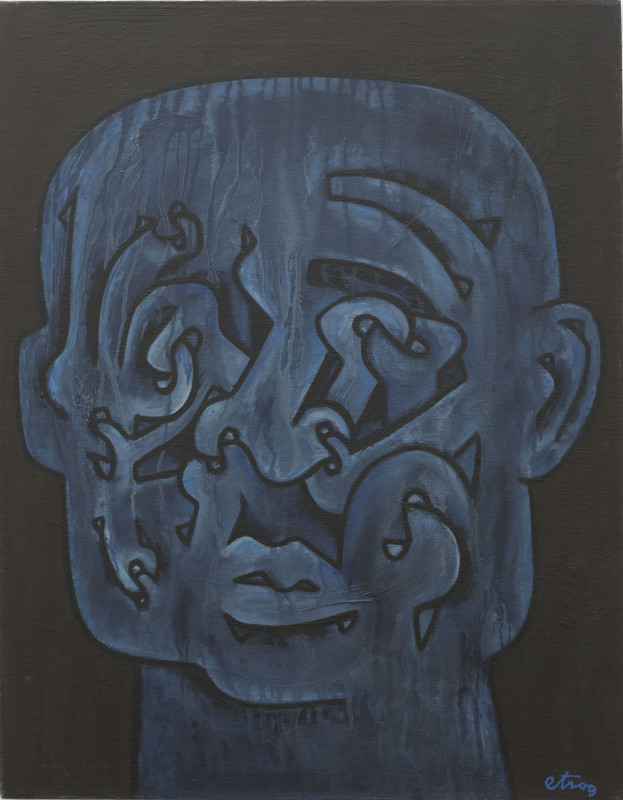 Sorel Etrog, Portrait of Eugène Ionesco, 1968