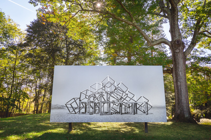 Noémie Goudal, Installation View, DeCordova, 2018