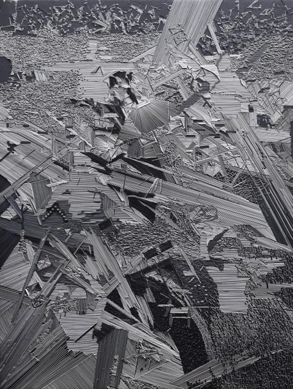 Marcin Dudek, Line and Diamond, 2016