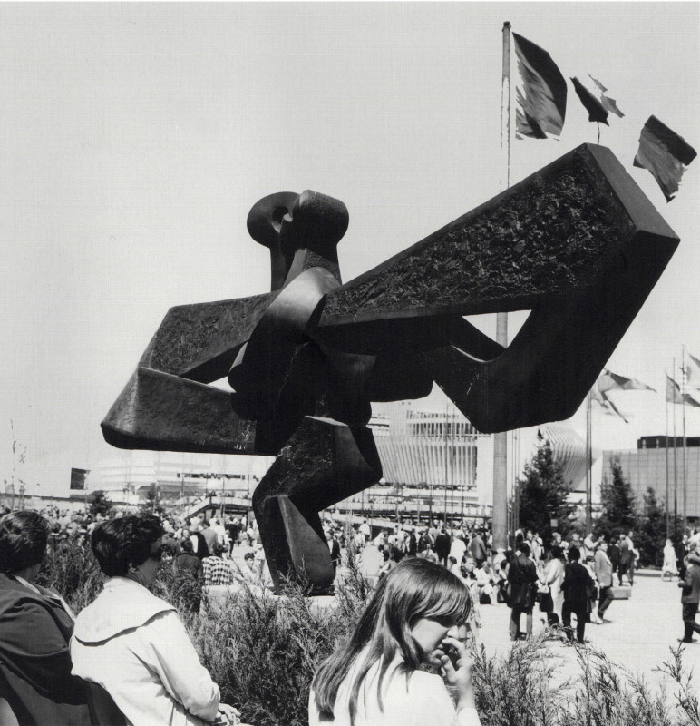 Sorel Etrog, Flight, 1963-64