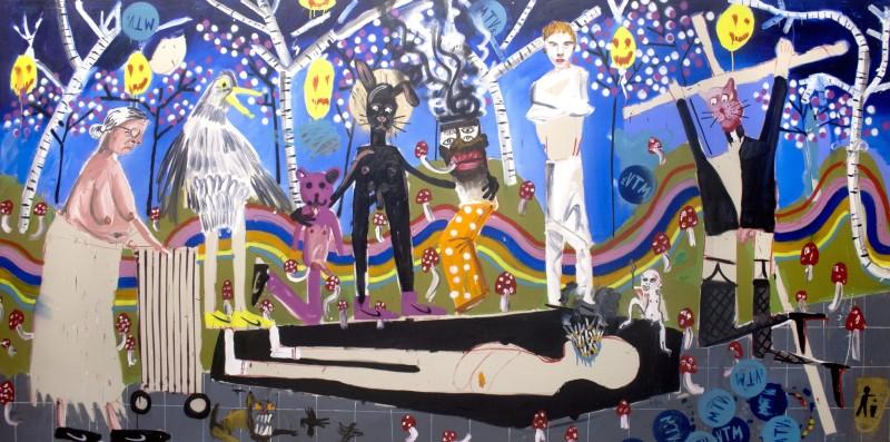 Dale Lewis, Acid Man's Funeral, 2015