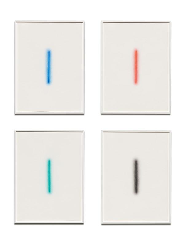 IGNACIO URIARTE, Four Glow Lines, 2018