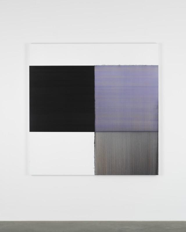 CALLUM INNES, Exposed Painting Blue Violet, 2019