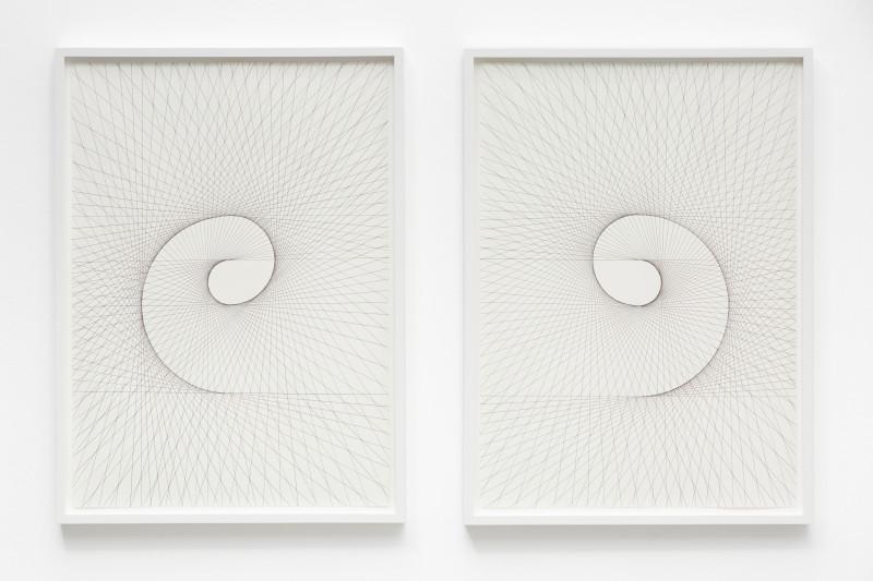 IGNACIO URIARTE, Mirrored Spirals, 2017