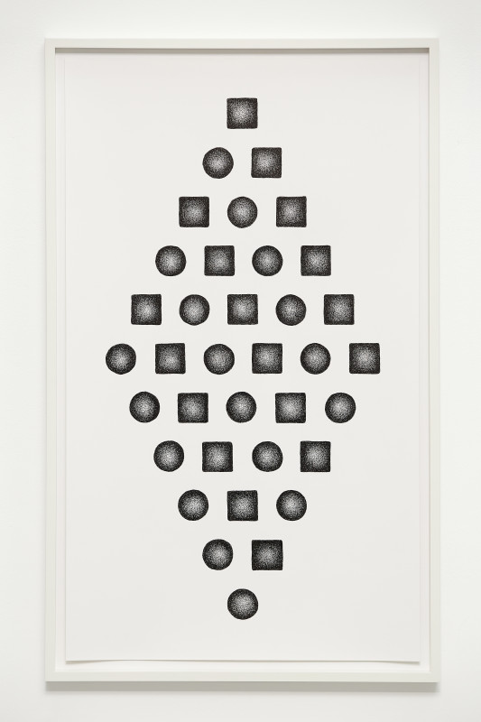 IGNACIO URIARTE, 18 squares and 18 circles, 2018