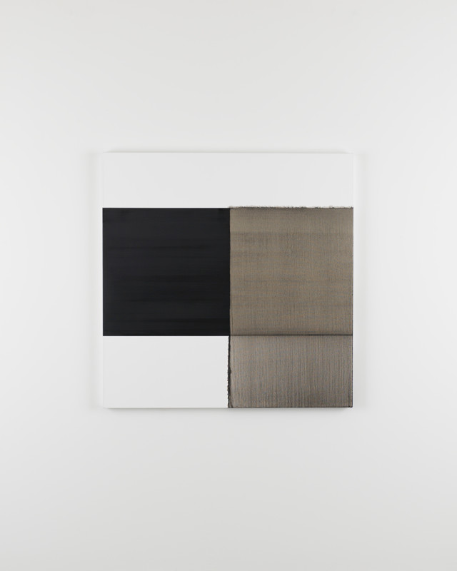 CALLUM INNES, Exposed Painting Lamp Black Asphalt, 2015