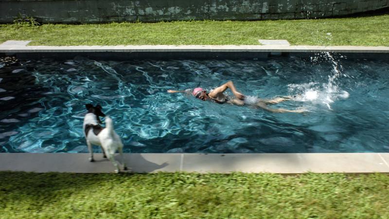 RAGNAR KJARTANSSON, Scenes From Western Culture, The Pool (Elizabeth Peyton), 2015