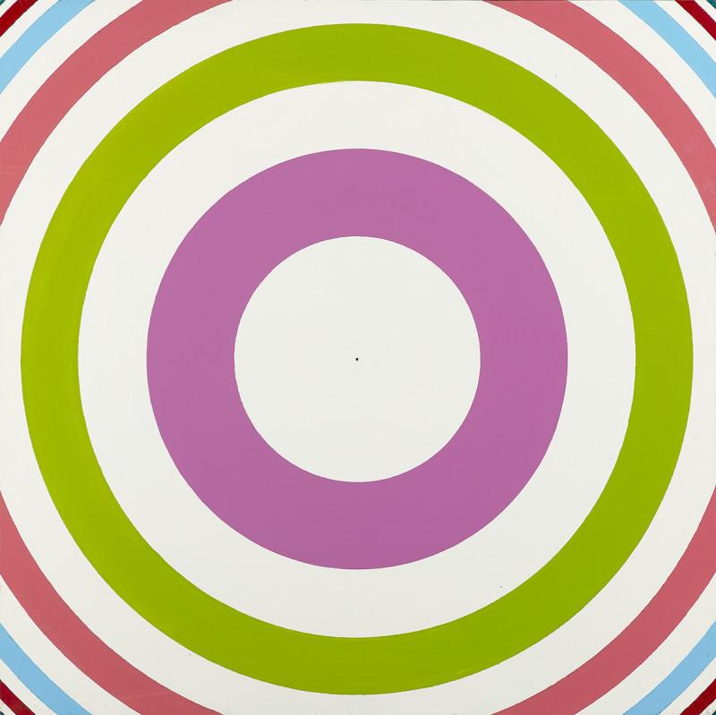 Poul Gernes, Untitled (Target painting), 1966-1970