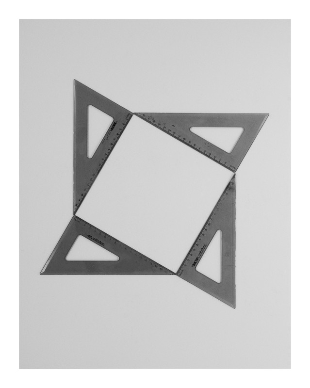 IGNACIO URIARTE, Four Geometry Sets Right Angled Triangle 13B, 2011