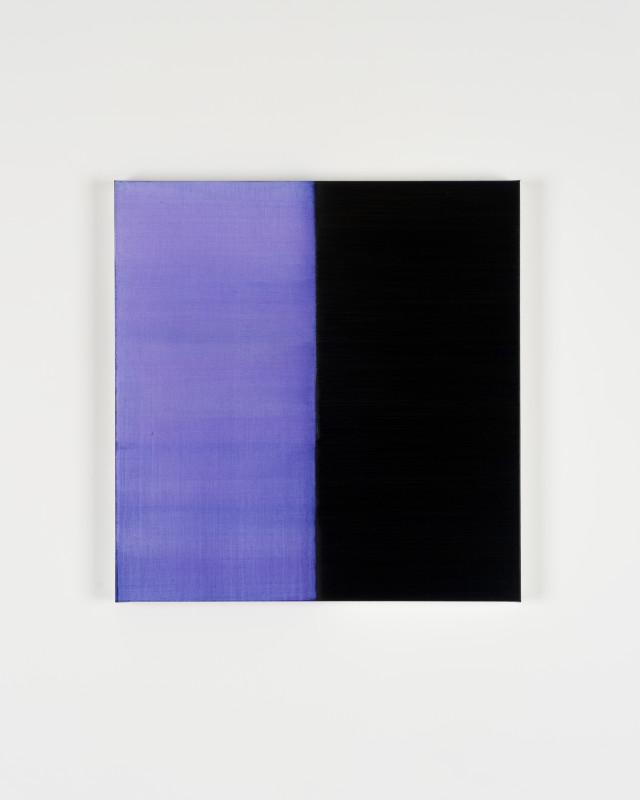 CALLUM INNES, Untitled Lamp Black No 7, 2019