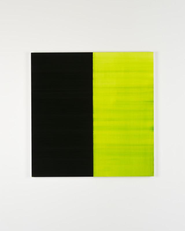 CALLUM INNES, Untitled Lamp Black No 9, 2019