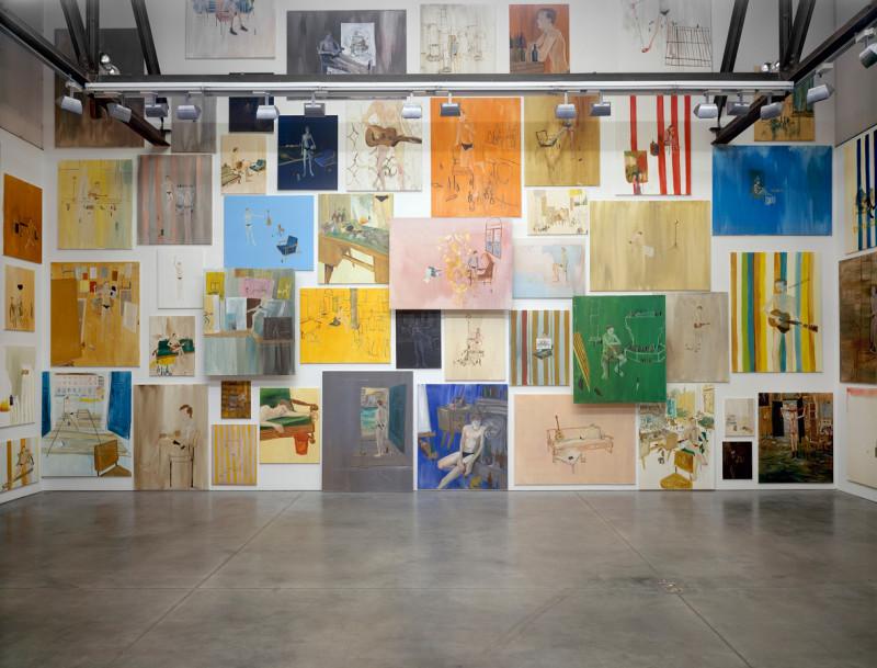 RAGNAR KJARTANSSON, The End (paintings), 2009