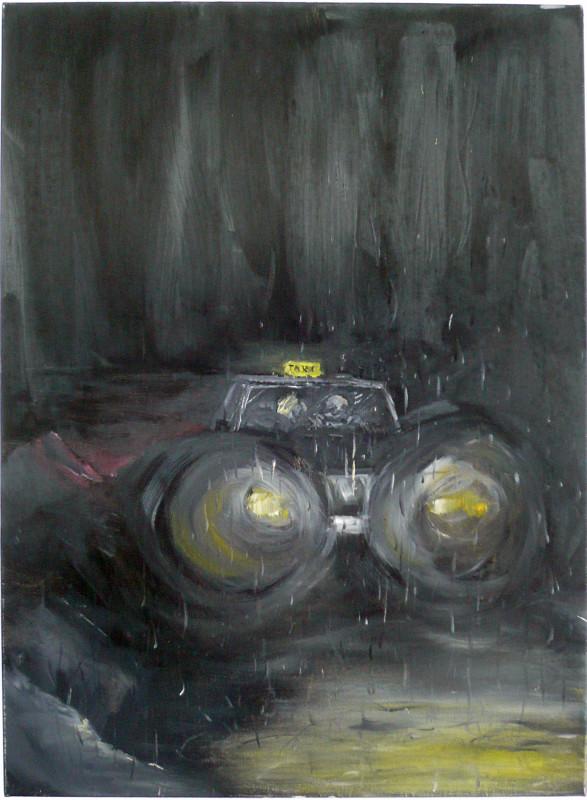 RAGNAR KJARTANSSON, Guilt Trip (Girl in a Taxi), 2006
