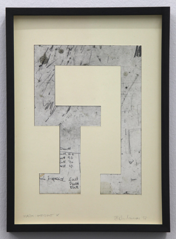 BIRGIR ANDRÉSSON, Mark-Imprint 4, 1992