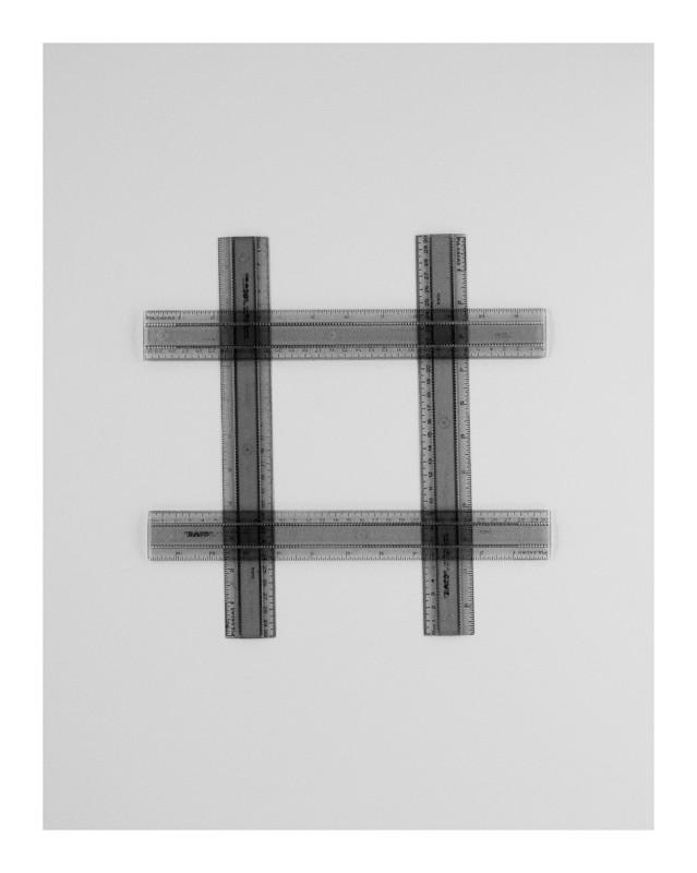IGNACIO URIARTE, Four Geometry Sets Rulers 9A, 2011