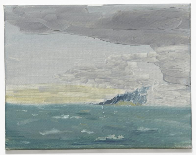 RAGNAR KJARTANSSON, Night - August Strindberg Ash, 2011